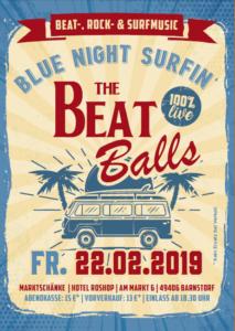 Blue Night Surfin